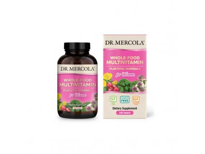 Dr. Mercola Multivitamín pro ženy, 240 tbl