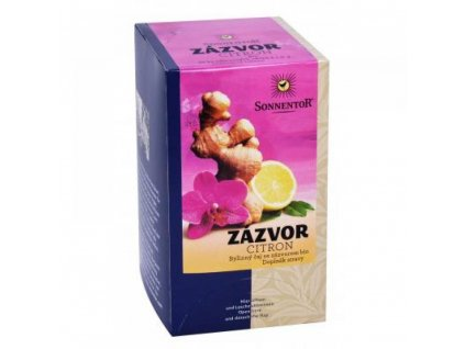 Sonnentor čaj Zázvor s citronem
