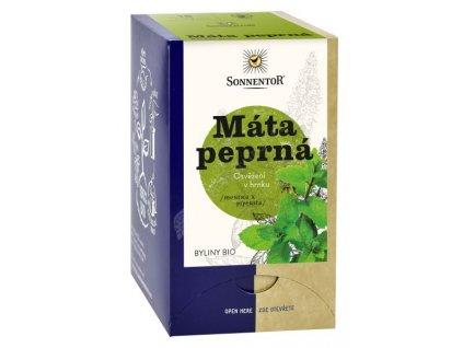 Sonnentor čaj Máta peprná (18g)