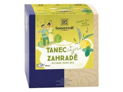 Sonnentor Tanec v čaj. zahradě - čaj pyramida