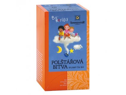Sonnentor Dětský čaj Biorarášci - Polštářová bitva