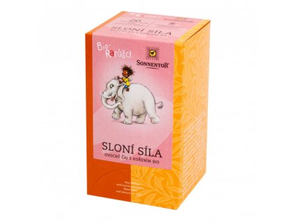 Sonnentor Dětský čaj Biorarášci - Sloní síla