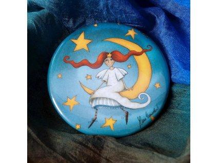 Zrcátko Andělka na měsíci