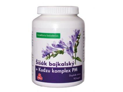 PM Šišák bajkalský + Kudzu komplex, 90 cps.