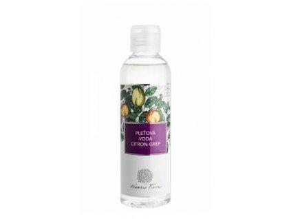 Nobilis Pleťová voda Citron-grep, 200ml