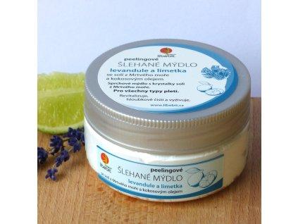 Libebit Šlehané mýdlo - Kokos. olej, sůl z Mrtvého moře