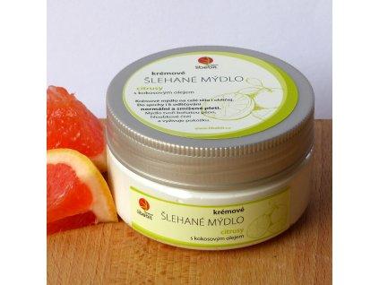 Libebit Šlehané mýdlo - Kokos. olej, Citrusy