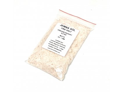 Jemná himalájská sůl 0.2kg