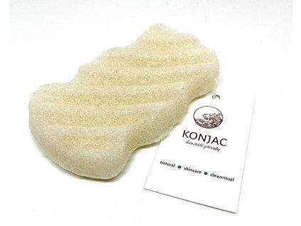 Konjac - Bílá houbička na tělo