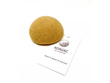 Konjac - Žlutá houbička na obličej, bochánek