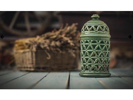 Aromalampa Květ života Zelená