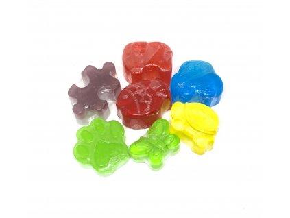 Libebit Konopné mýdlo dětské tvary - druhy