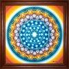 Obraz Mandala Andělský portál, ručně domalovaná 30x30cm