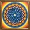 Obraz Mandala Zdraví, ručně domalovaná 30x30cm