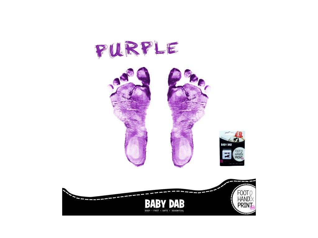 BABY DAB purple 3