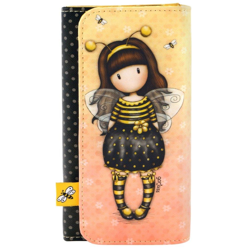 PENĚŽENKA NA PATENT (VELKÁ) SANTORO - BEE LOVED (JUST BEE-CAUSE)