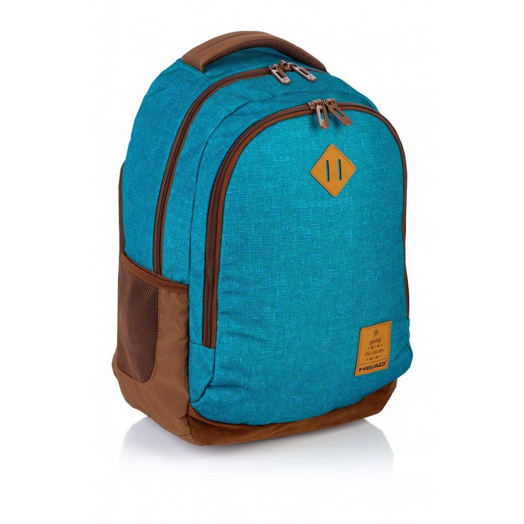 Dvoukomorový studentský batoh HD-56 Head 2