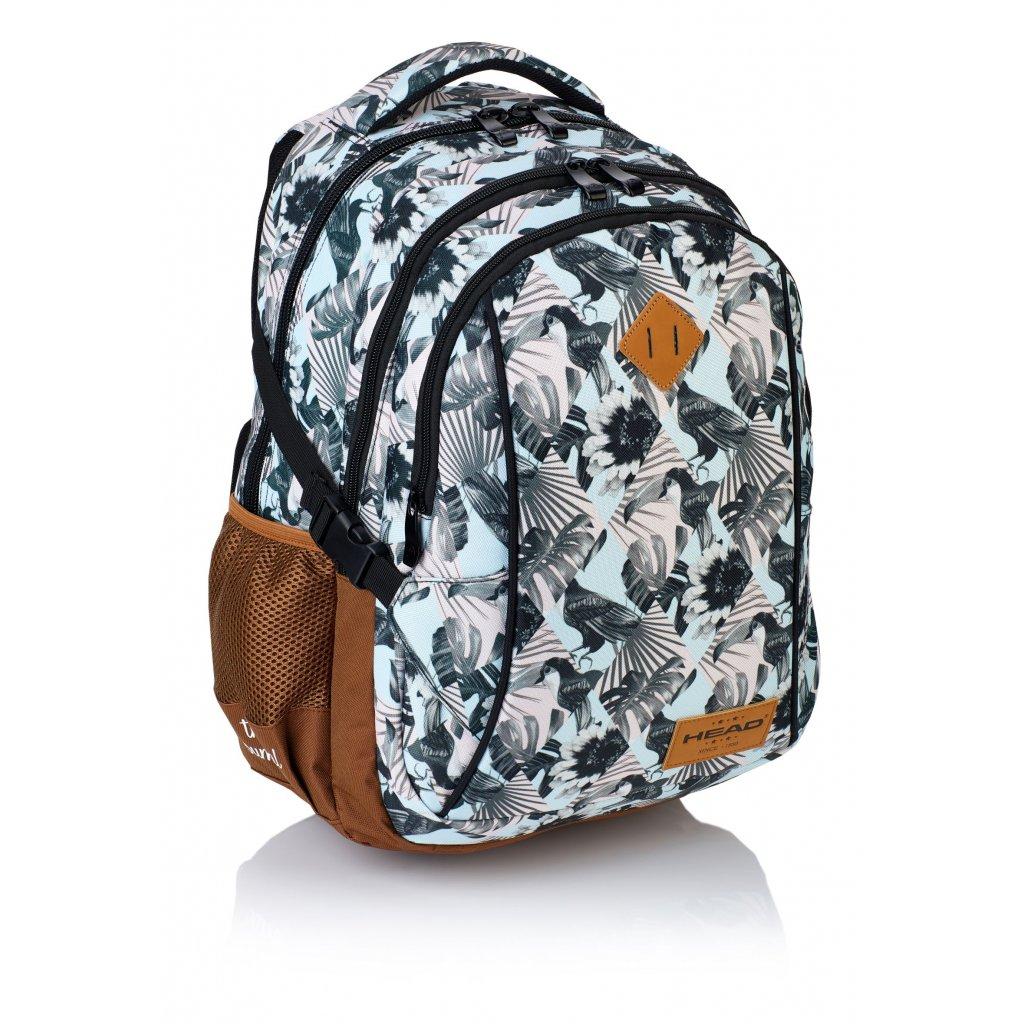 Tříkomorový školní batoh HD-81 Head 2