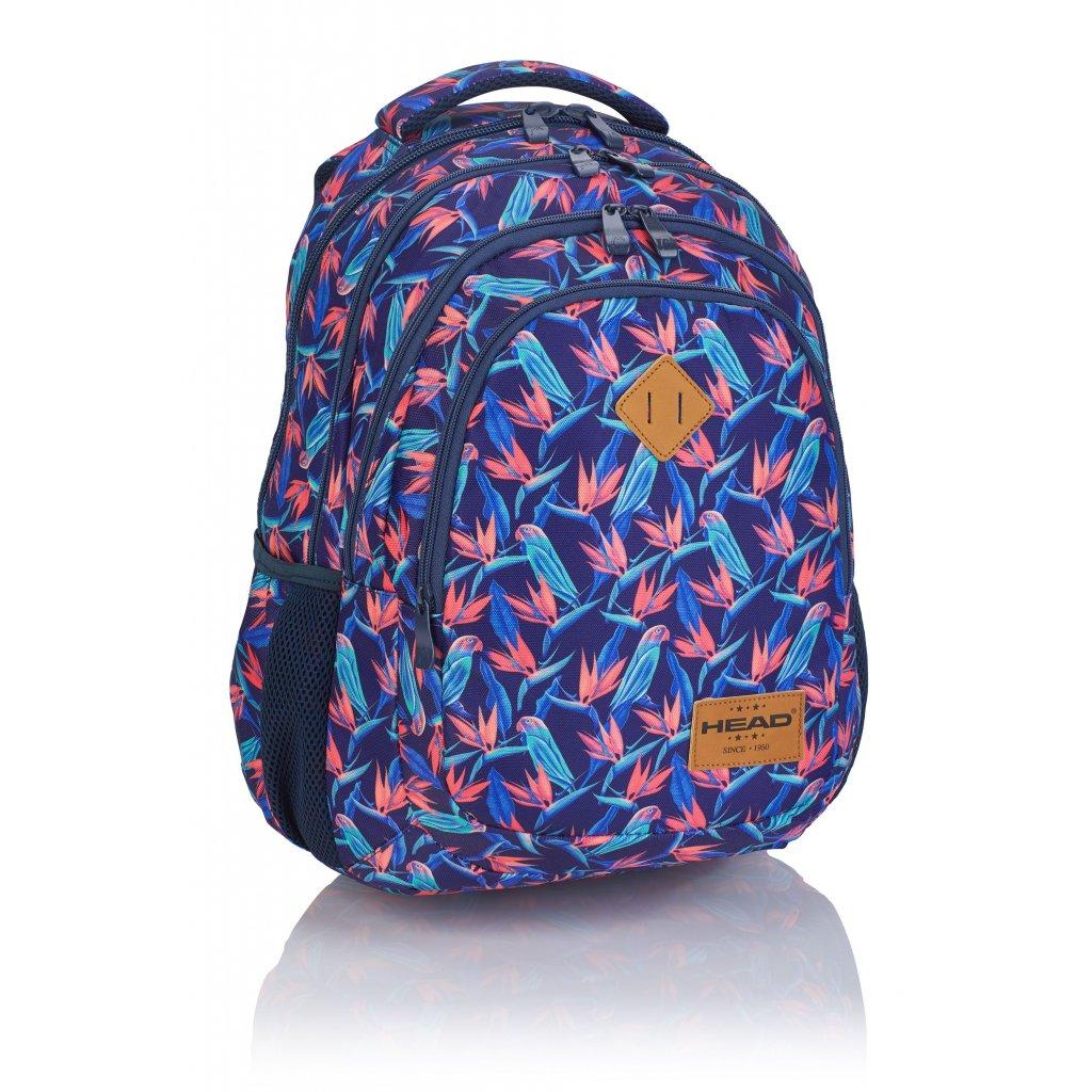 Čtyřkomorový školní batoh HD-213 Head 3