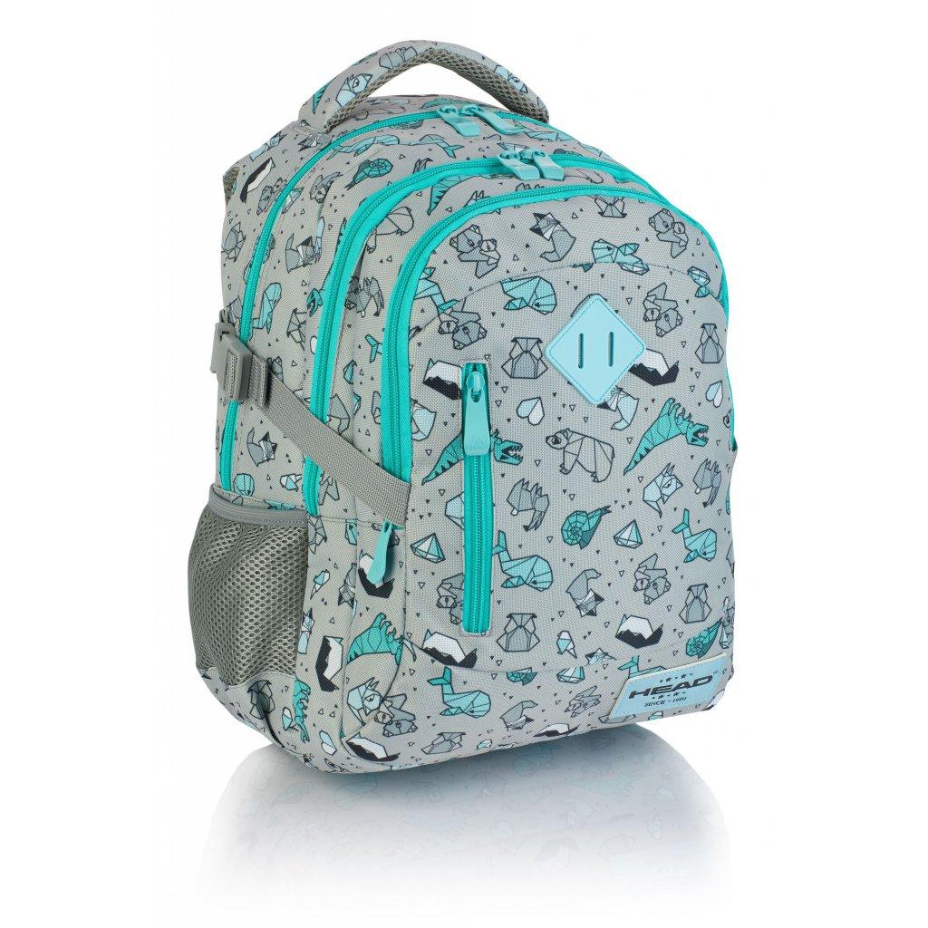 Tříkomorový školní batoh HD-239 Head 3