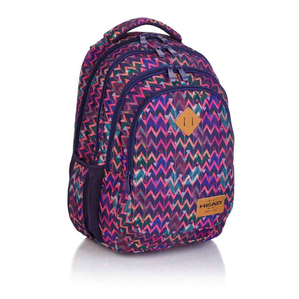 Čtyřkomorový školní batoh HD-264 Head 3