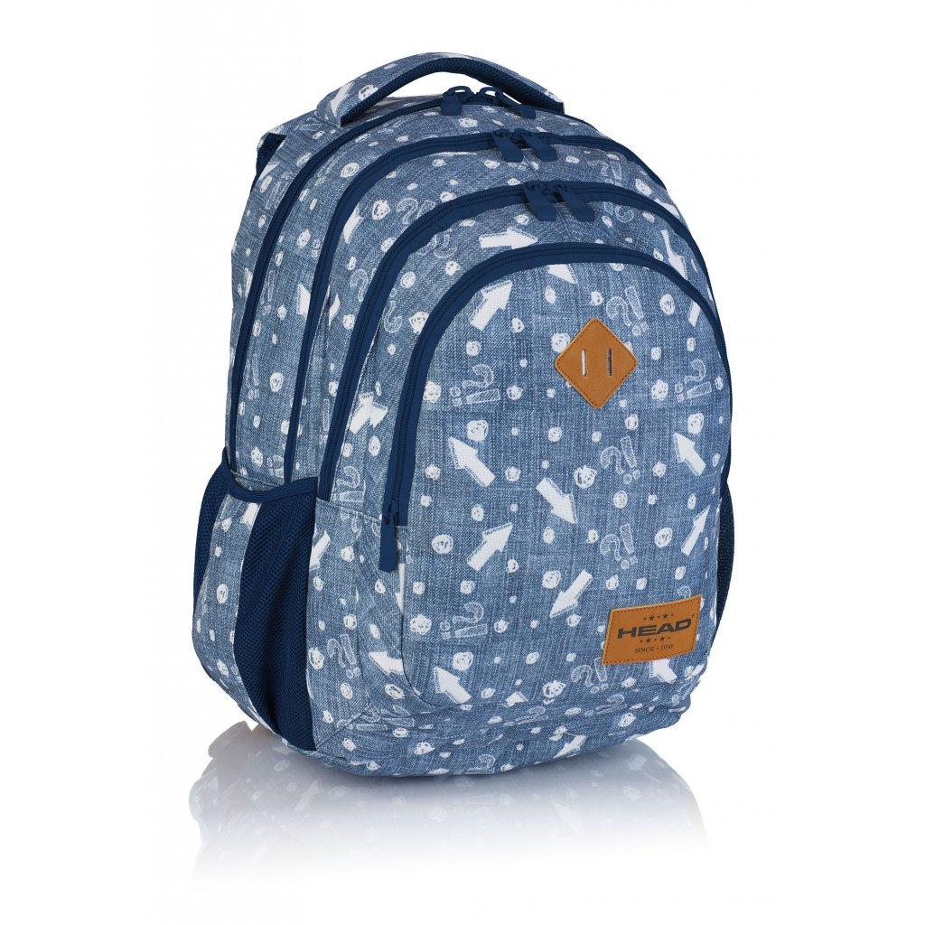 Čtyřkomorový školní batoh HD-345 Head 3