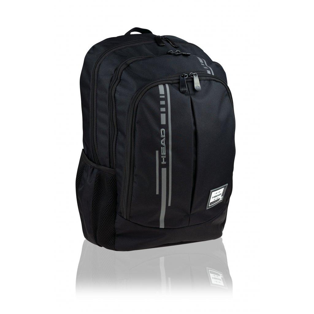 Studentský / volnočasový batoh Smart Black I Head 4