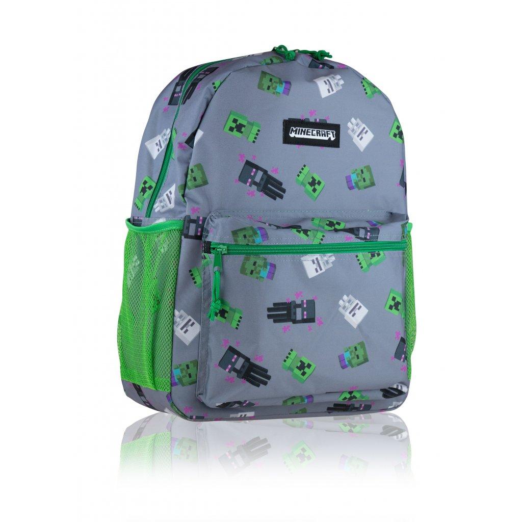 Studentský / volnočasový batoh MINECRAFT