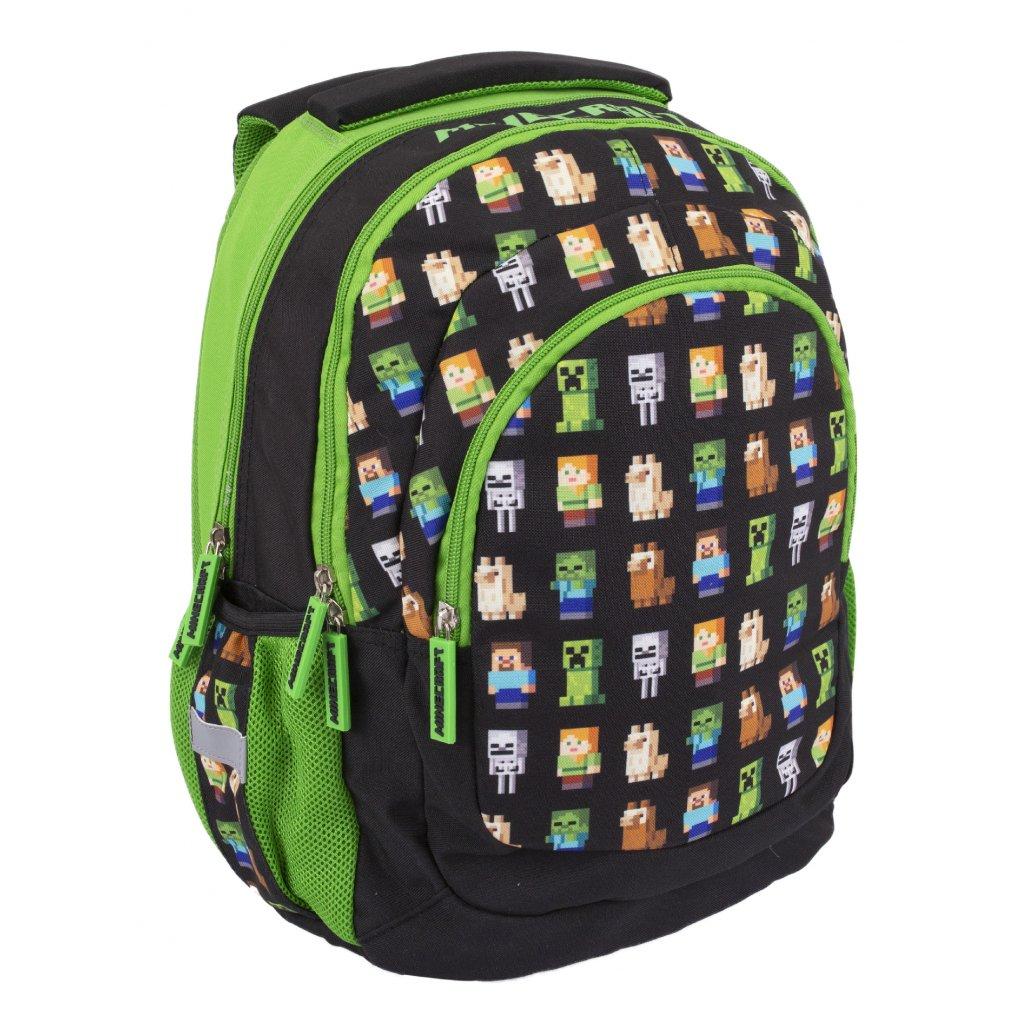 Školní batoh AB330, MINECRAFT MULTI CHARACTERS