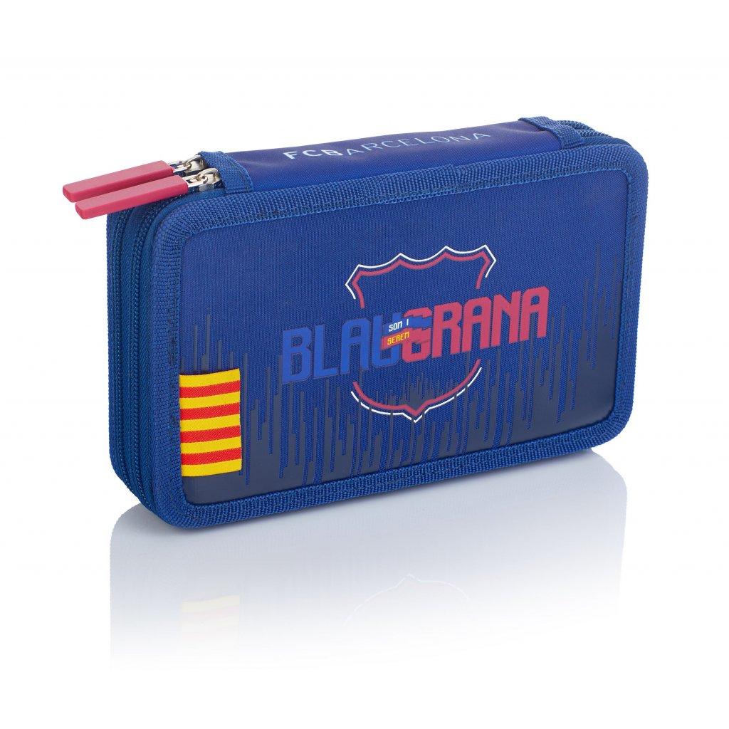 Dvoupatrový penál bez příslušenství 2BW FC-237 FC Barcelona Barca Fan 7.