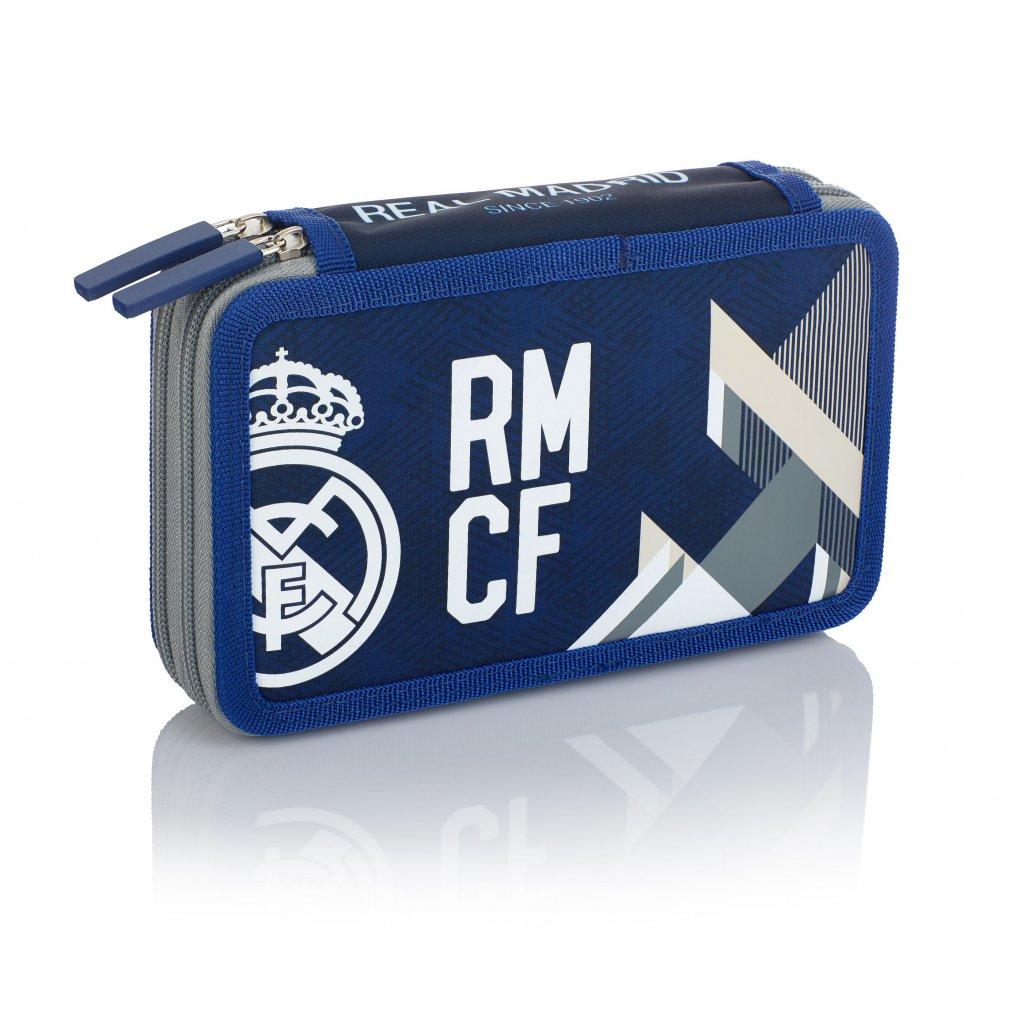 Dvoupatrový penál bez příslušenství 2BW RM-184 Real Madrid Color 5