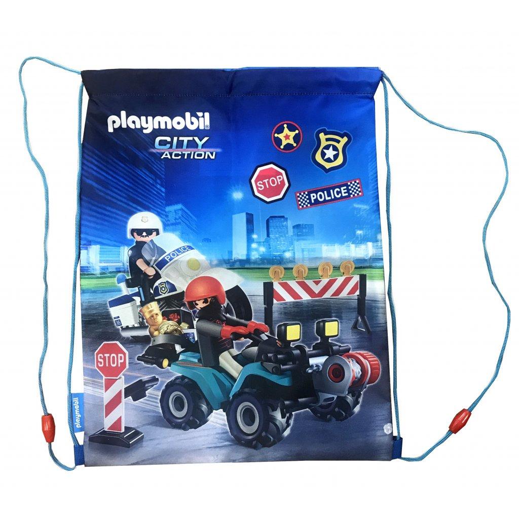 Stahovací vak PL-12 Playmobil Policista
