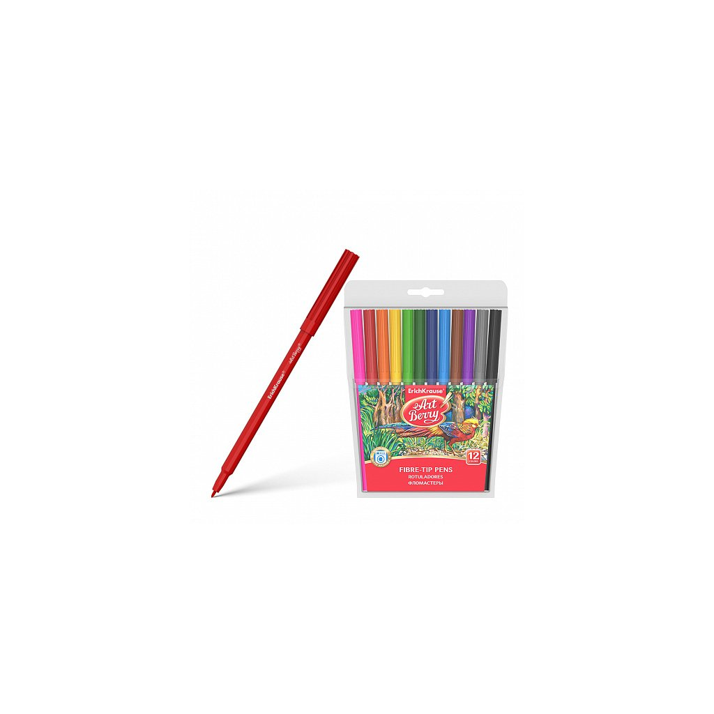 Fixy ERICH KRAUSE ArtBerry® 12 barev