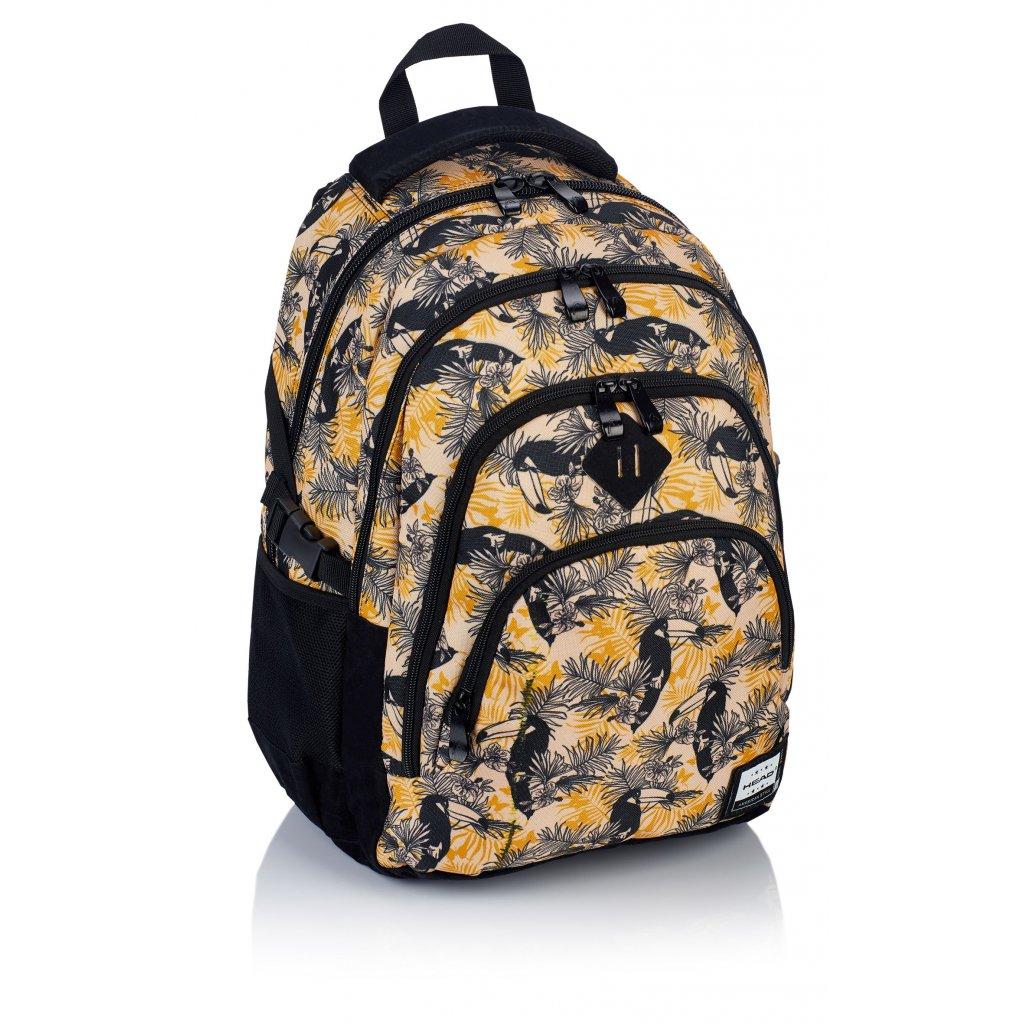 Čtyřkomorový školní batoh HD-88 Head 2 Tukan