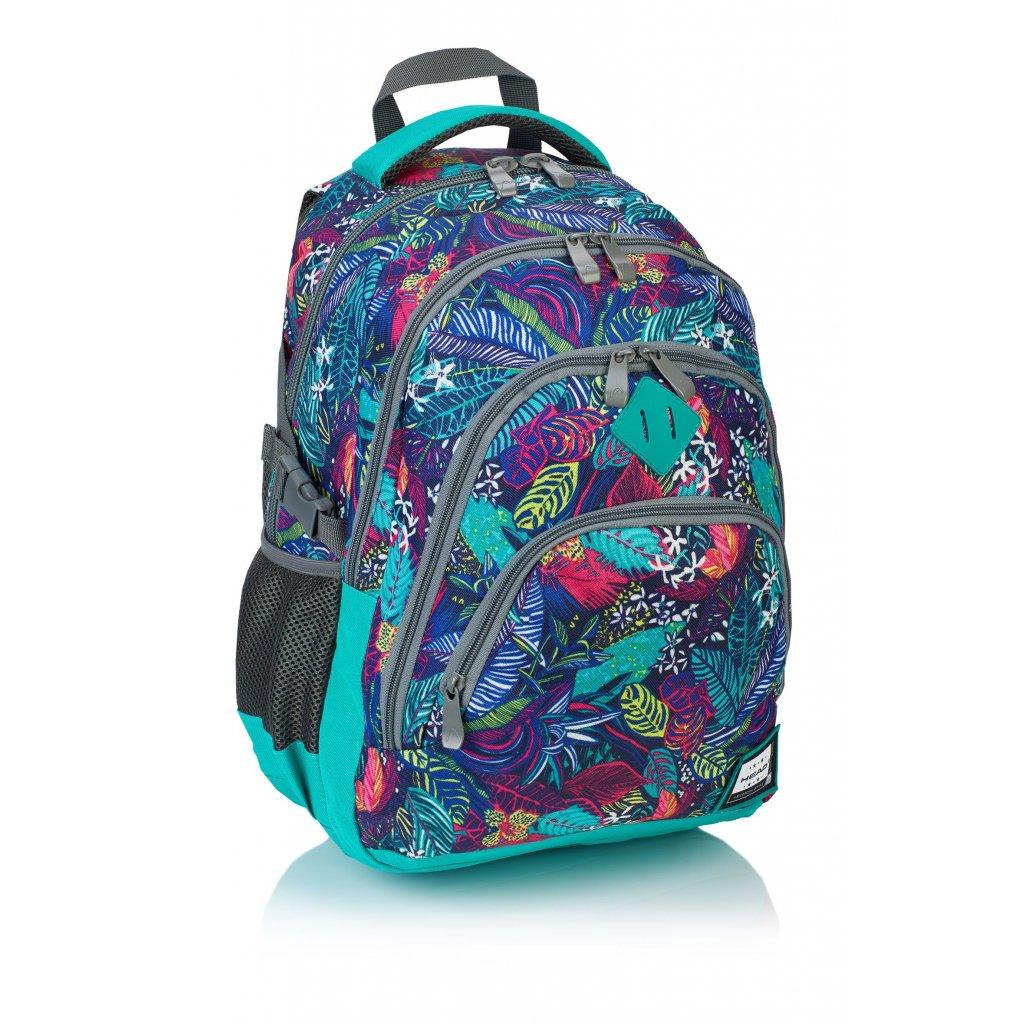 Čtyřkomorový školní batoh HD-107 Head 2