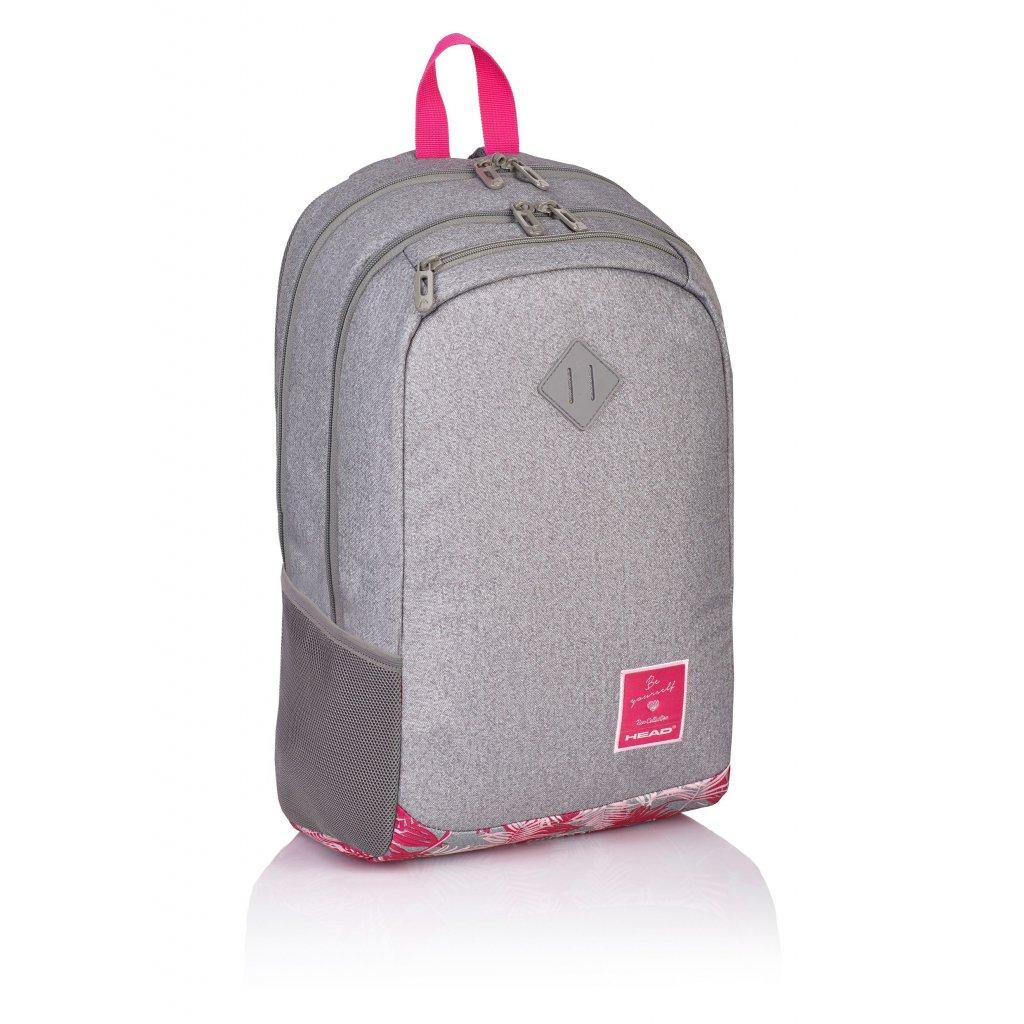 Dvoukomorový studentský batoh HD-05 Head