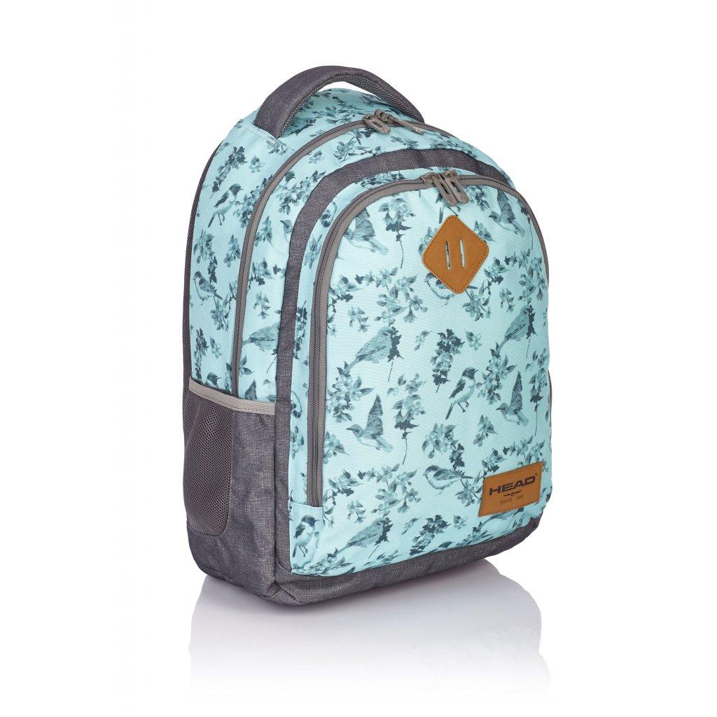 Dvoukomorový studentský / volnočasový batoh HD-15 Head