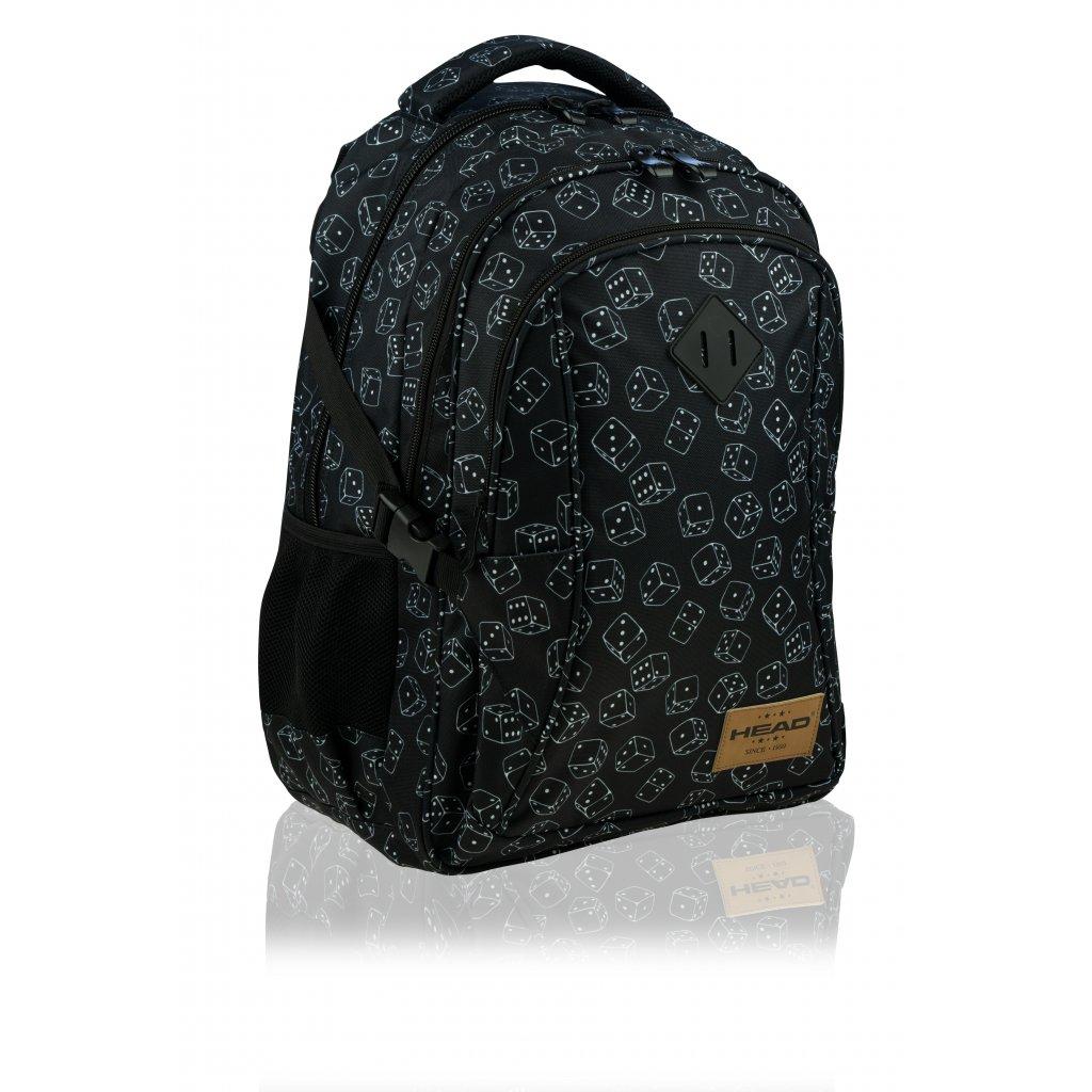 Tříkomorový školní batoh HEAD Dice