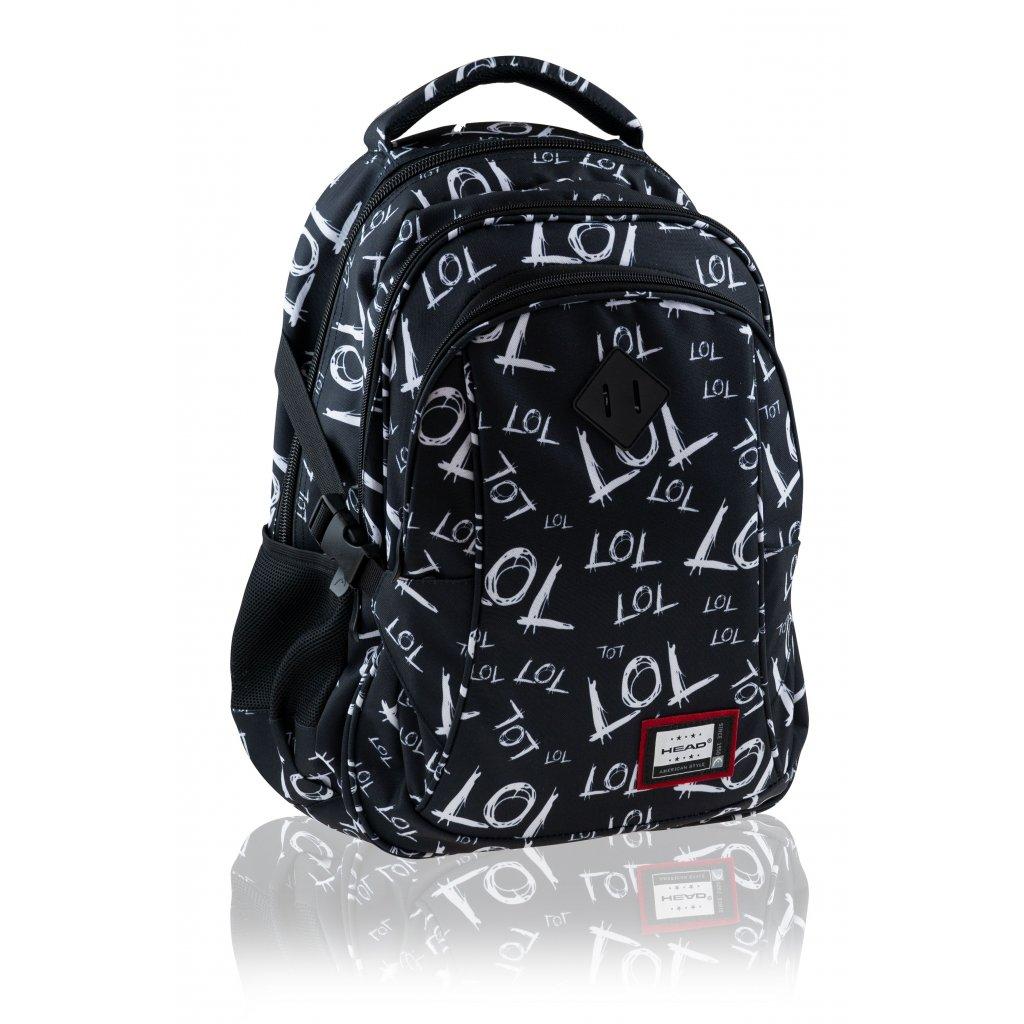 Tříkomorový školní batoh HEAD LOL
