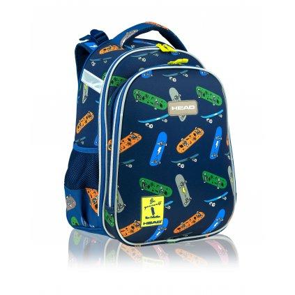 Anatomický školní batoh HD-408 SK8 Head 4