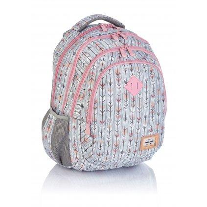 Čtyřkomorový školní batoh HD-286 Head 3