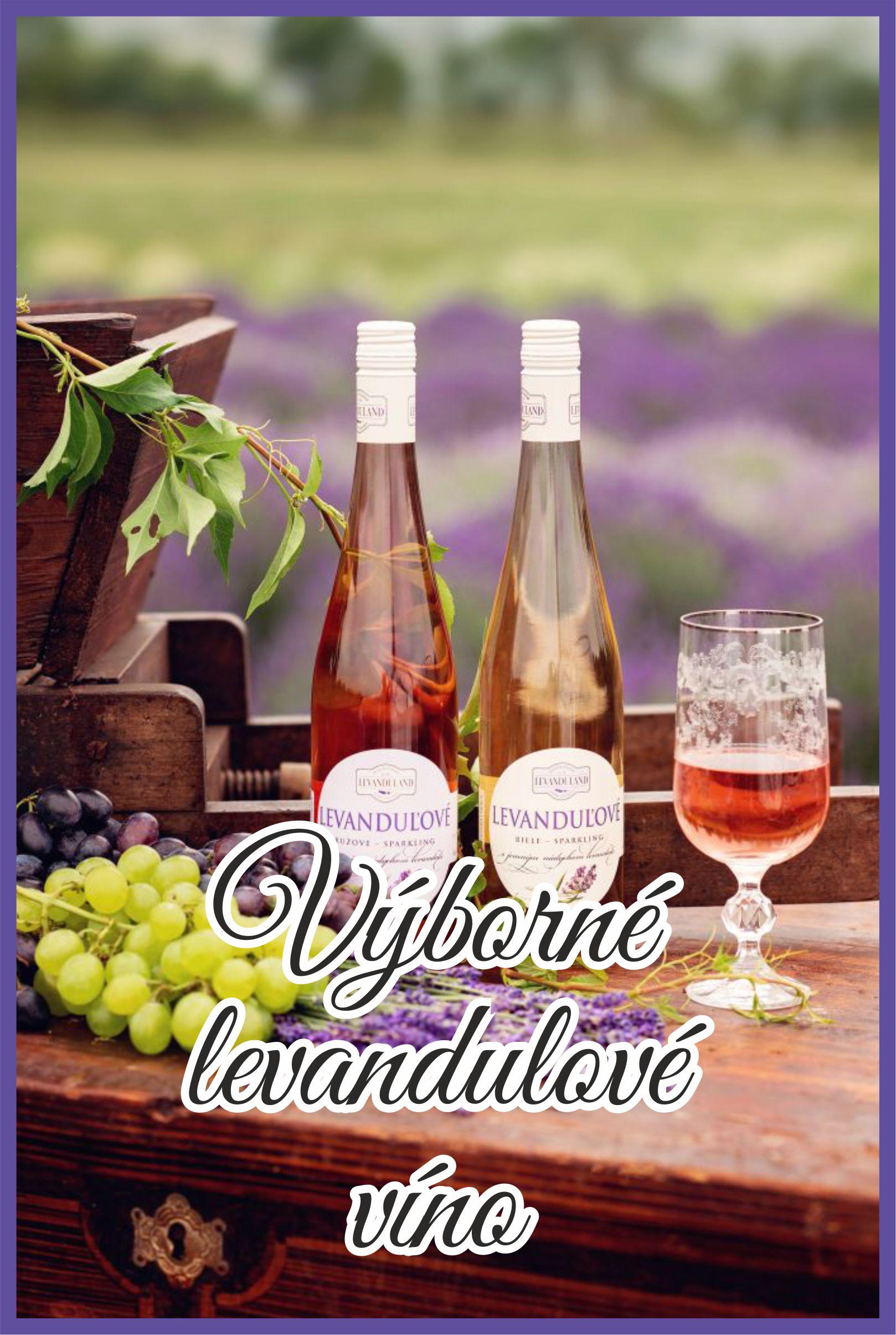 Levandulové víno