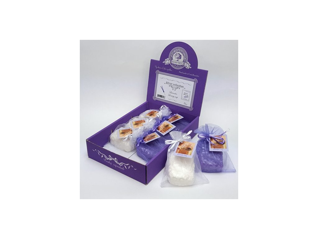 Mýdlo levandulové 100g