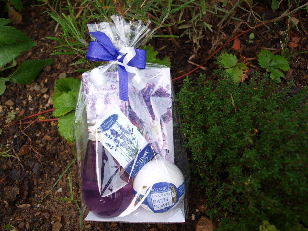 Levandulový dárkový balíček