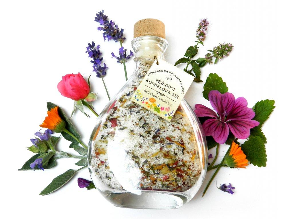 Koupelová sůl Bylinkové uvolnění s levandulí