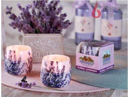 Svíčka ve skle 100g Levandule I - Fresh Lavender