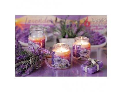 Levandulová svíčka Lavender Fields & Soap