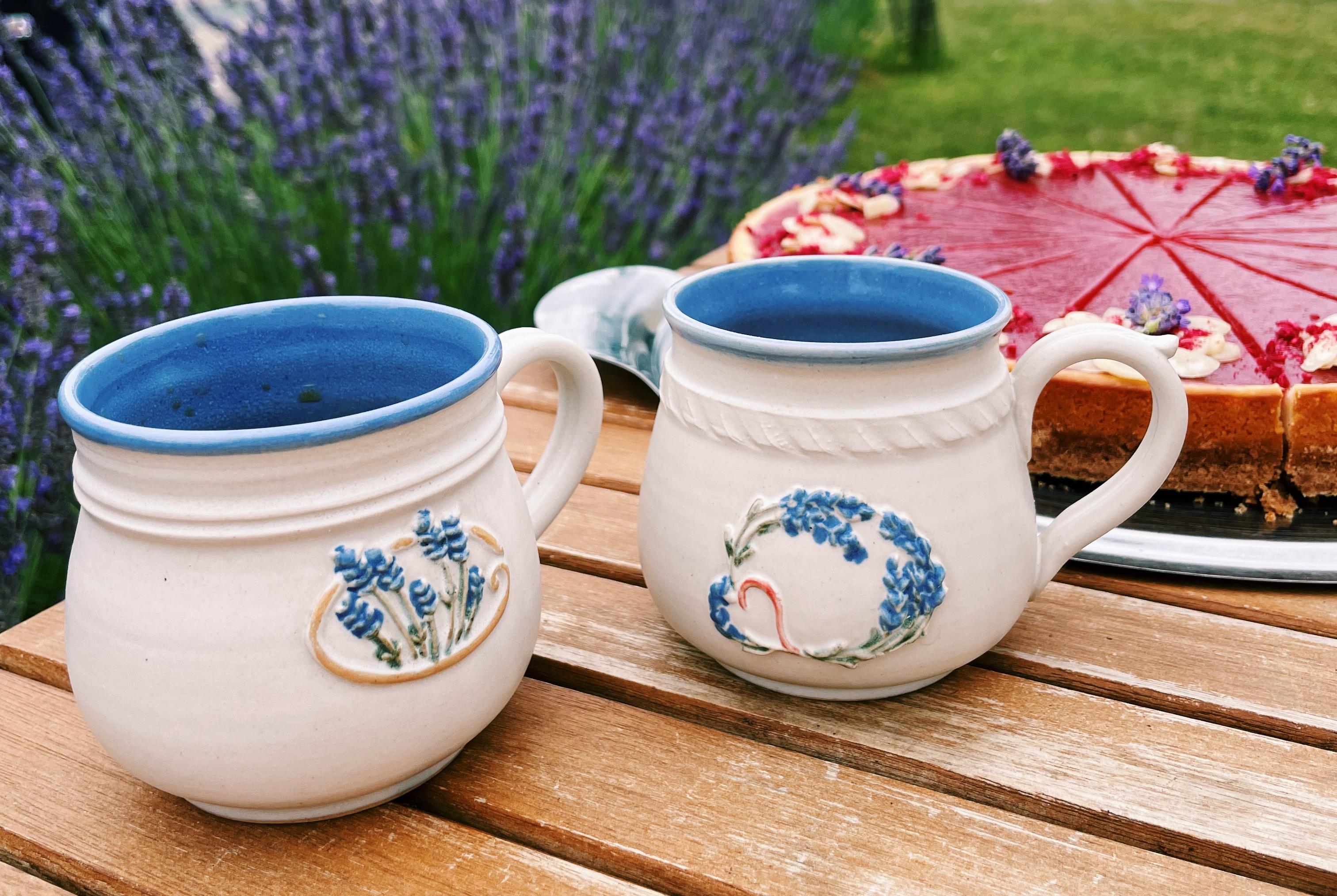 Levandulové dobroty, káva s sebou a posezení