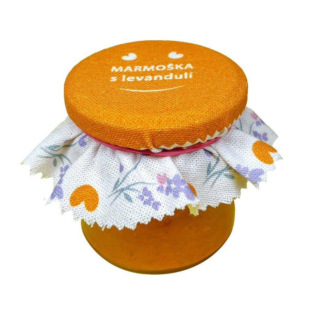 Meruňková marmeláda s levandulí