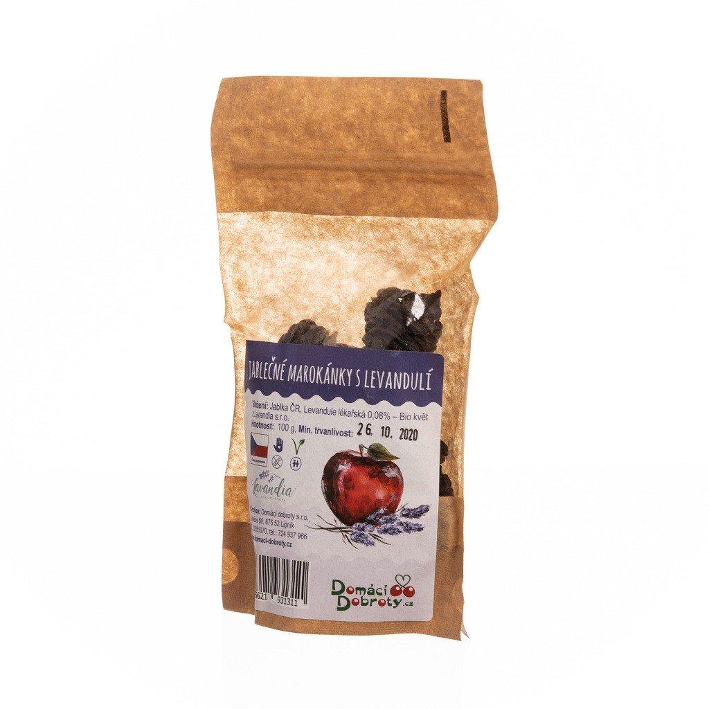 Jablečné marokánky s levandulí